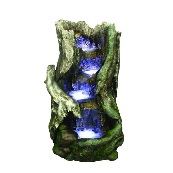Polyresin Waterfall Fountain