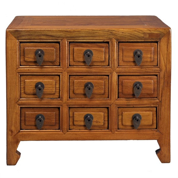 Dynasty 9 Drawer Jewelry Cabinet