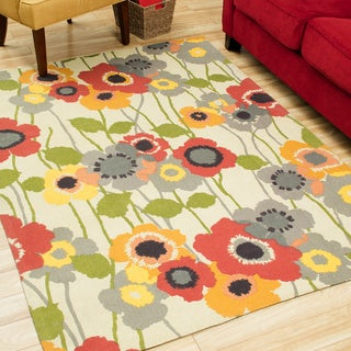 Waverly Art House by Nourison Poppy Area Rug (5' x 7')
