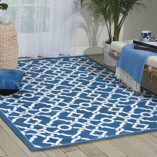 Waverly Art House by Nourison Blue Jay Area Rug (5' x 7')