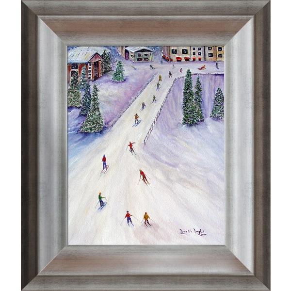 Loretta Luglio 'Rush Hour' Framed Fine Art Print