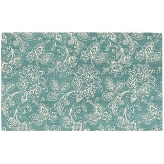 Waverly Art House by Nourison Teal Accent Rug (2'3 x 3'9)