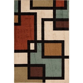 Christopher Knight Home Terrace Vienna Brigham Multi Area Rug (7'10 x 9'10)