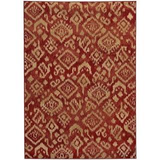 Tribal Ikat Rug (1'10 x 3'3)