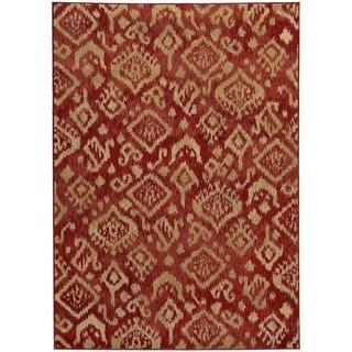 Tribal Ikat Rug (3'3 x 5'5)