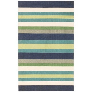 Waverly Art House by Nourison Blue Accent Rug (2'3 x 3'9)