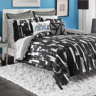 Steve Madden Shana Cotton Reversible 3-piece Duvet Cover Set with Sham Seperates