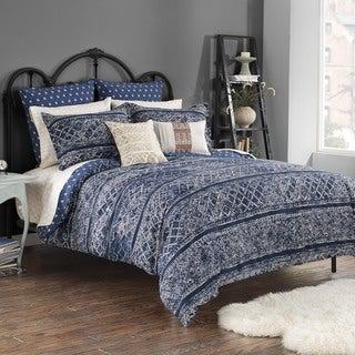 Steve Madden Lani Reversible Cotton Duvet Cover Set