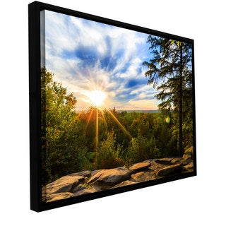 Cody York 'Virginia Kendall 2' Floater-framed Gallery-wrapped Canvas