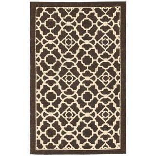 Nourison Waverly Color Motion Walnut Rug (5' x 7')