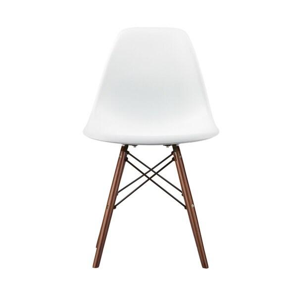 Vortex Dining Side Chair in Walnut Legs (Set of 2)