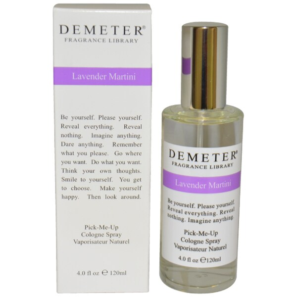 Demeter Lavender Martini Women's 4-ounce Cologne Spray