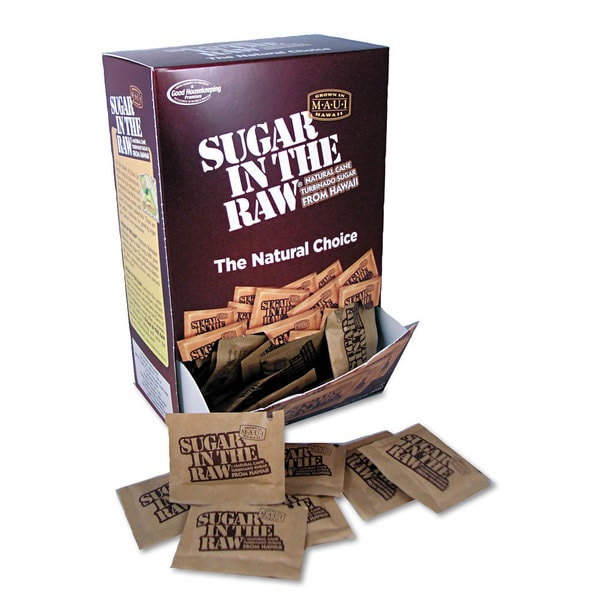 Sugar in the Raw Unrefined Sugar (Box of 200 Packets)