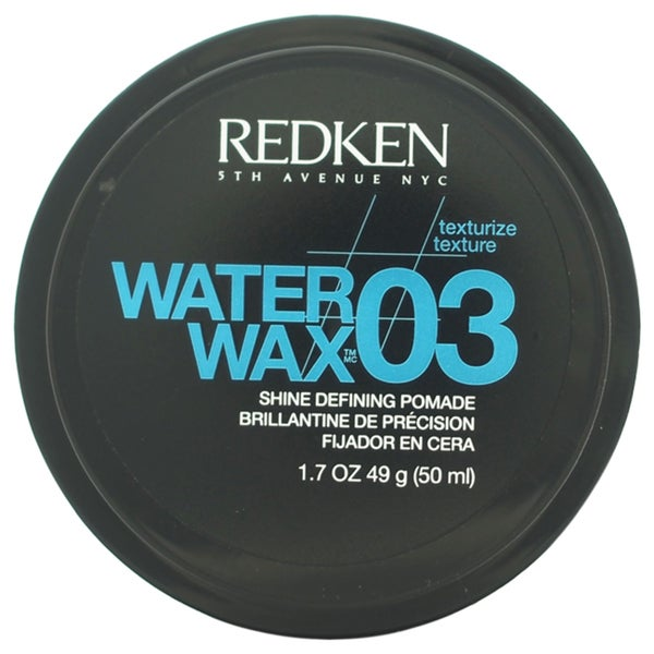 Redken Water Wax 03 Shine Defining 1.7-ounce Pomade