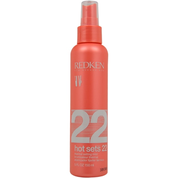 Redken Hot Sets 22 Thermal Setting 5-ounce Mist
