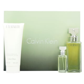 Calvin Klein Eternity Women's 3-piece Fragrance Set