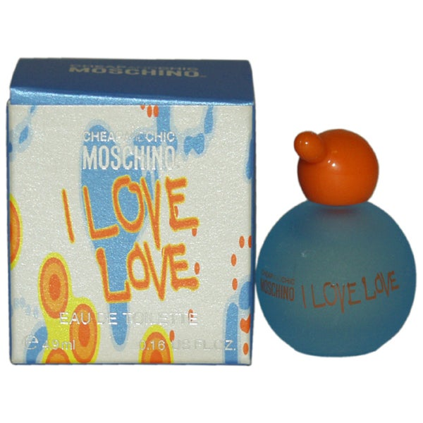 Moschino I Love Love Cheap and Chic Women's 0.17-ounce Eau de Toilette Splash