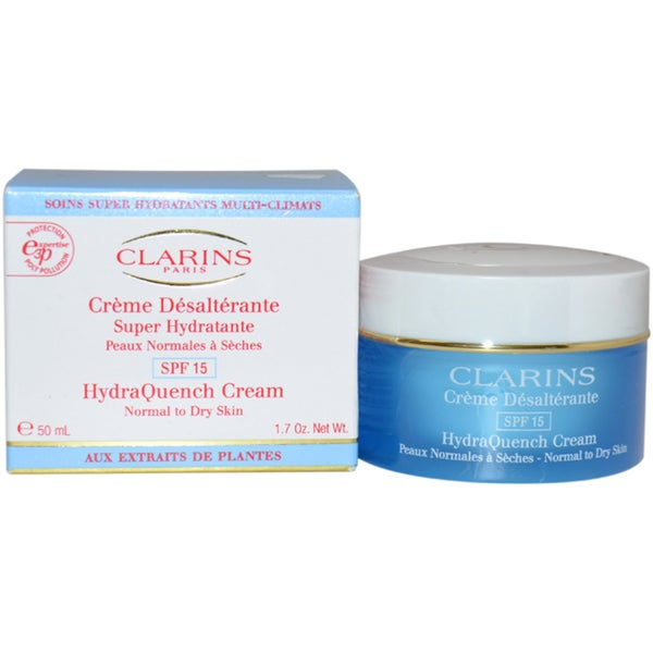 Clarins HydraQuench Cream SPF 15 Normal to Dry Skin 1.7-ounce Day Cream