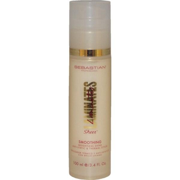 Sebastian Professional Laminates Sheer Smoothing Weightless Shine Anti-static Thermal 3.4-ounce Styling Spray