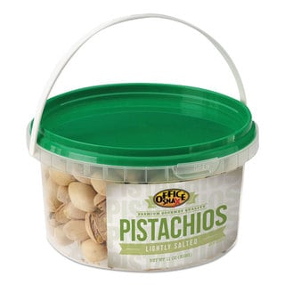 Office Snax All Tyme Favorite Nuts Pistachios 11-ounce Tub