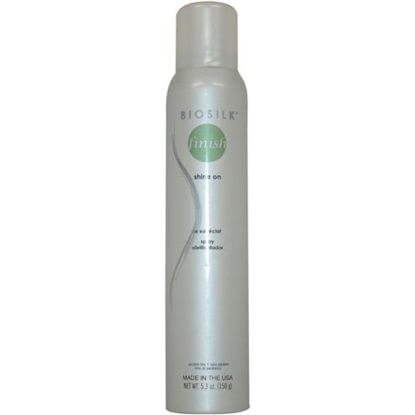 Biosilk Therapy Shine On 5.3-ounce Hair Spray