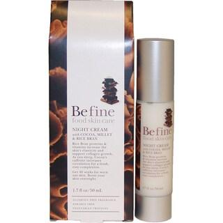 Befine Night Cream with Cocoa/ Millet/ Rice Bran 1.7-ounce Moisturizer
