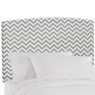 Made to Order Chevron Upholstered Headboard