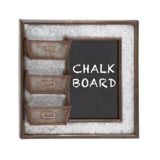 Rustic Metal Wall Blackboard