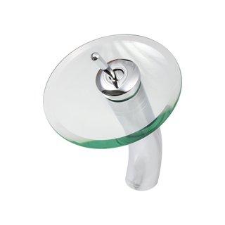 Dyconn Faucet Platinum Series Aberdeen - Contemporary Glass Waterfall Bathroom Faucet