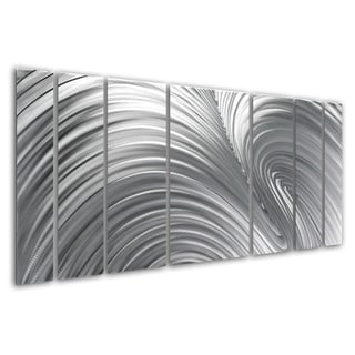 Original Hand-crafted 'Fusion' Metal Wall Art