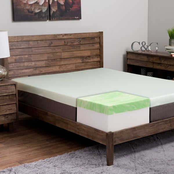 Island Dreams Wailea 12-inch King-size Gel Memory Foam Mattress