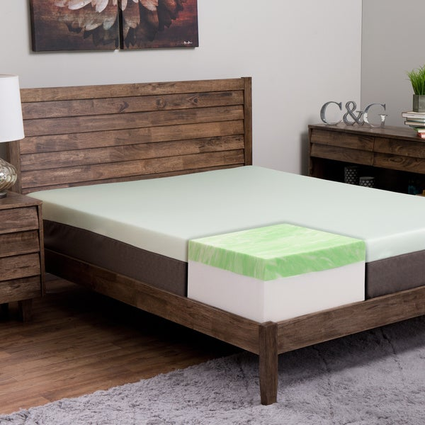 Island Dreams Wailea 12-inch Queen-size Gel Memory Foam Mattress