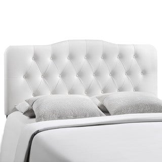 Annabel King Vinyl Headboard