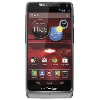 Motorola Droid RAZR M XT907 4G LTE Verizon Wireless Silver Android Smart Phone