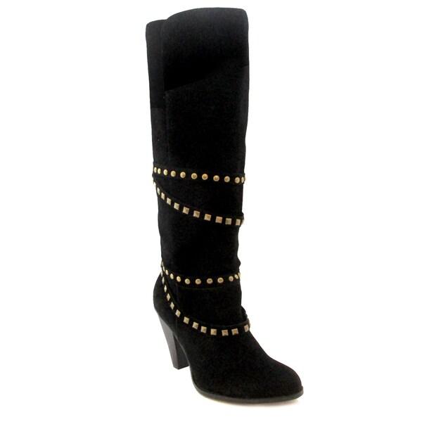 Olivia Miller Women's 'Winona Strappy High Heel Boots