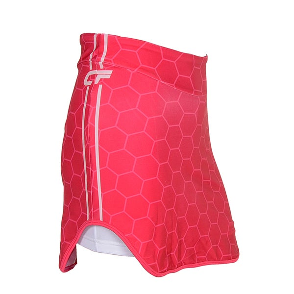 Cycle Force Women's Triumph Pink 6-Panel Cycling Skirt/ Shorts