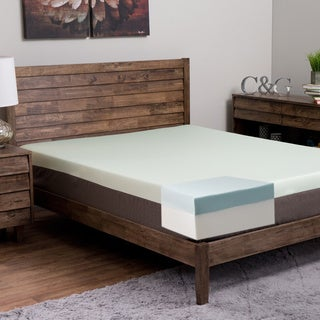 Island Dream Kailua 10-inch Queen-size Memory Foam Mattress