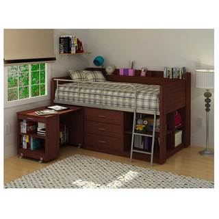 Rack Clairmont Cherry Twin Loft Bed