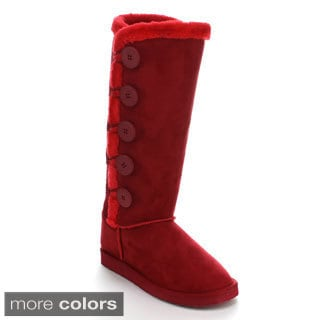 Forever Women's 'Aling-94' Knee-high Snow Boots