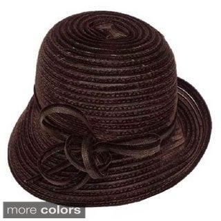 Swan Women's Velvet Ribbon Crusher Hat
