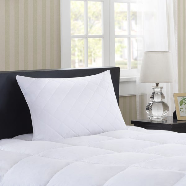 Madison Park Luxury Quilted Feather Pillow