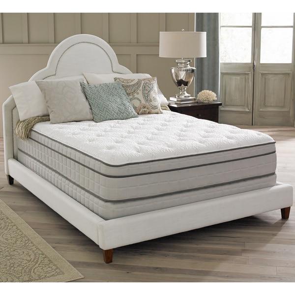 Spring Air Premium Collection Antoinette Pillow Top Twin-size Mattress Set
