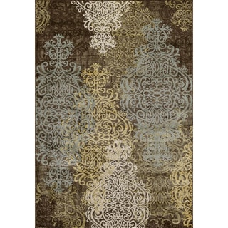 Christopher Knight Home Vintage Drayton Avenue Brown Area Rug (7'10 x 9'10)