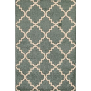 Christopher Knight Home Terrace Vienna Taza Light Blue/ Bone Area Rug (7'10 x 9'10)