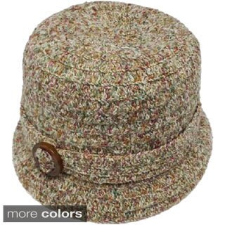 Swan Women's Casual Chenille Ribbon Hat