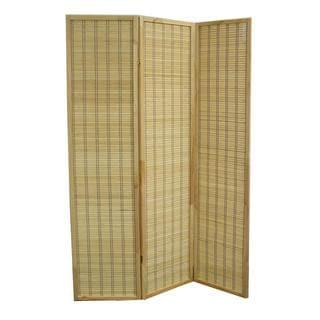Serenity Bamboo 3-panel Room Divider