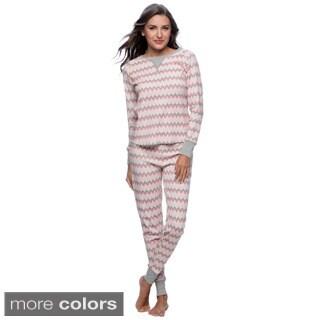 Hadari Women's Thermal Pajama Set