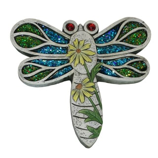 Mosaic Dragonfly Stepping Stone (Set of 4)