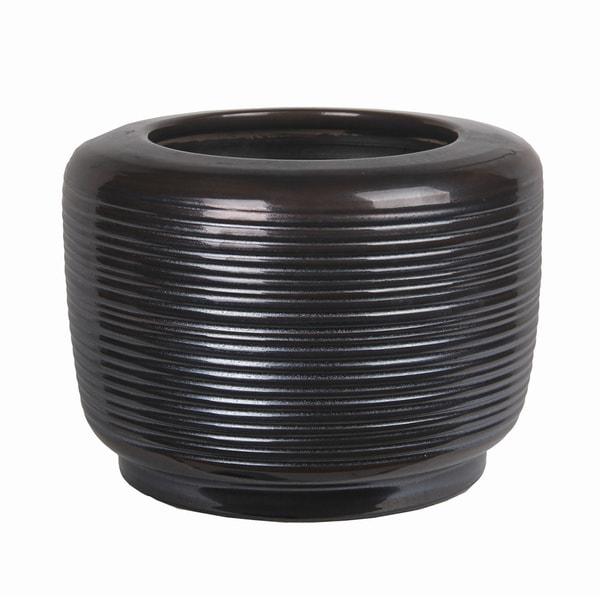 Small Ceramic Grey Pot