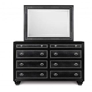 Magnussen Onyx Drawer Dresser and Landscape Mirror